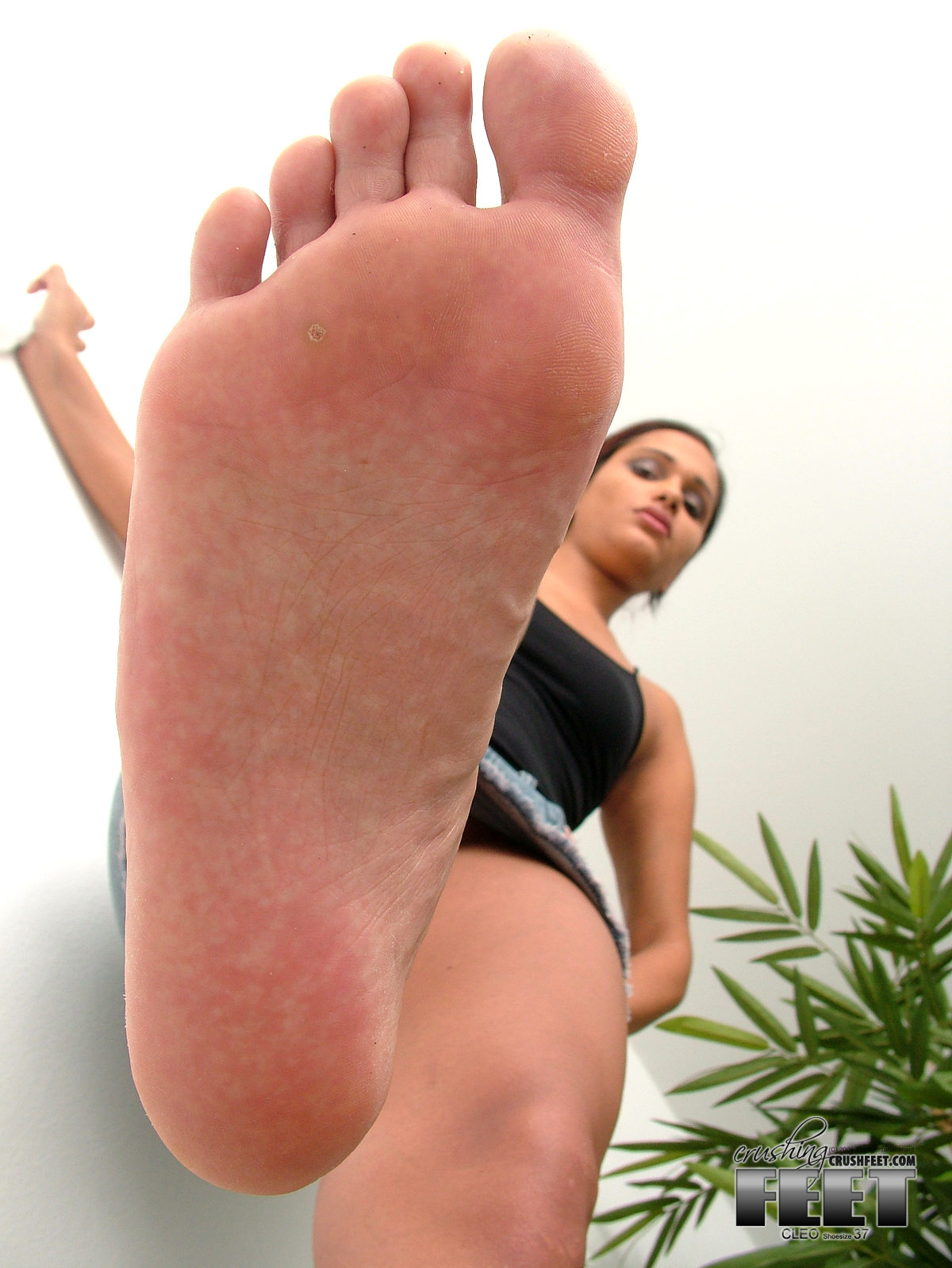 Giantess Nylon Feet Pov