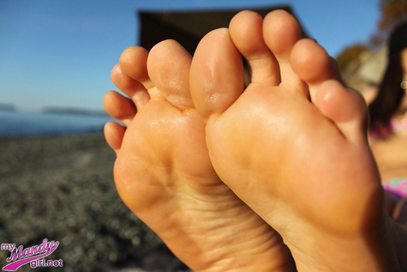 Mandy flores feet