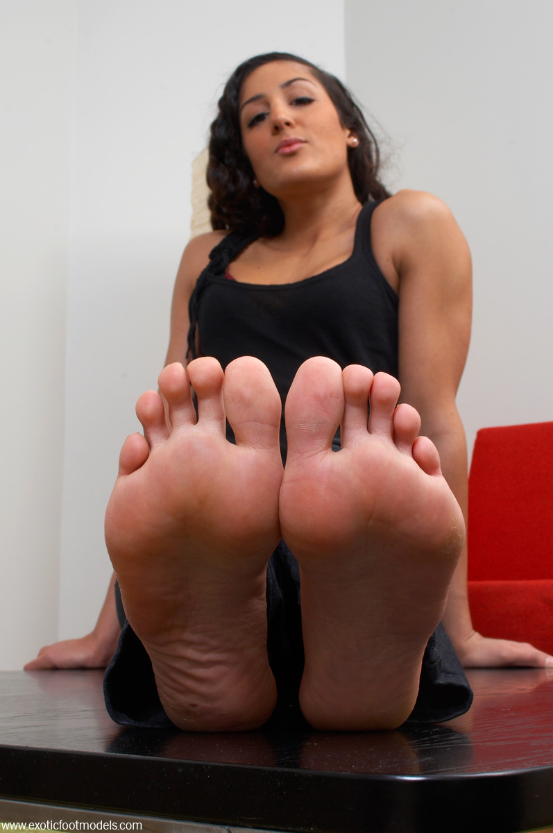Indian feet domination