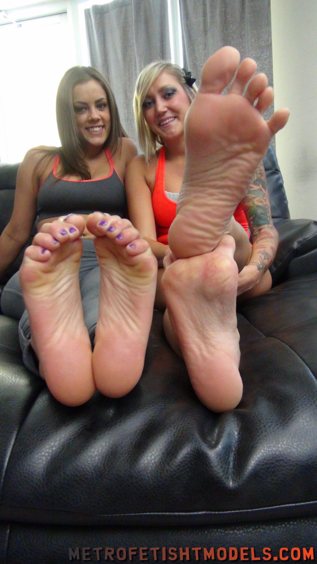 Charlee Chase Feet Tickle