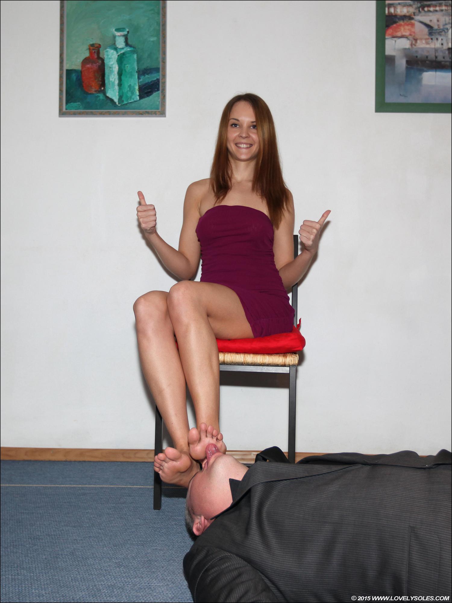 Shoe fetish foot fetish babe in lingerie sucks and fucks 8