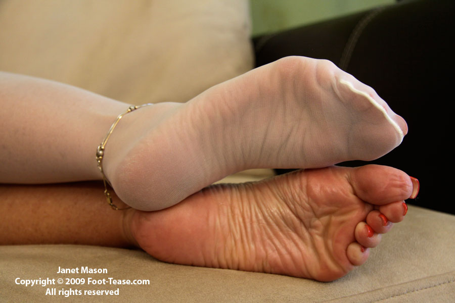 Soles tease with high arches 3