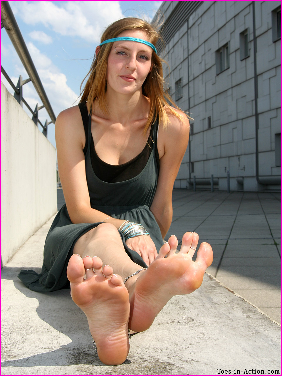Trade toes-in-action her plastic